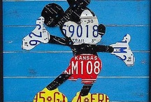 License Plates / by Kathi Zeigler