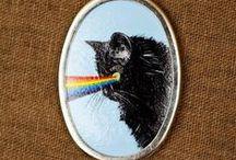 FELINE FANATICS / All things of the feline persuasion / by Susanne Dean