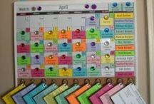 Organizing / Tips for organizing around the family / by Miki Salisbury Thompson