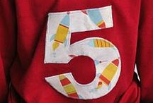 T-shirts and appliqué  / by Chelsea Claus