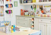 Bonus Room Ideas / Craft room inspiration  / by Miki Salisbury Thompson