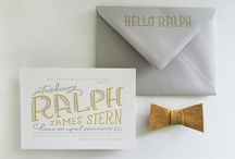 Invitation Design / by Katie Marie