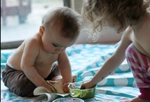 Fingerpainting and Beyond / Children are natural artists. Resources for promoting creativity in the home and early childhood classrooms. / by 4C for Children
