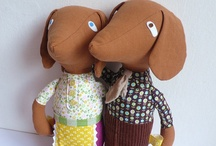 Soft Toys - Cats & Dogs / by Joanne