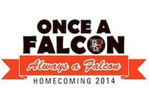 Homecoming, Oct. 3-5 / More info at bgsu.edu/homecoming. Theme: Once A Falcon, Always A Falcon  / by BGSU