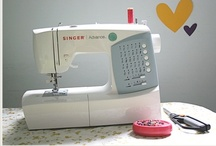 my sewing machine; learning to use! / by Liz Irwin