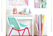 wonderful home office, studio or workshop decor / by Nay Paul