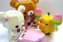 ✄ Paper toys ♥ / by Nay Paul