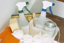 Green Cleaning Products / Rid the toxins in your life, the natural way. / by Living Surrendered