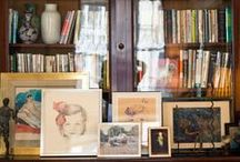 Library + Office / by Rachael Elizabeth