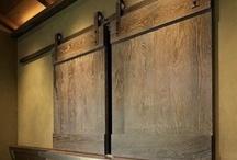 Sliding Doors. / Indoor doors, mostly barn doors. / by Jenny Doss