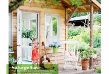Magazine Styling Exteriors / I have worked as a magazine stylist and story producer for ten years.  These are some exteriors that I have produced / by Heather Cameron