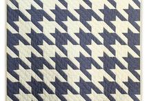 My next quilt - houndstooth pattern / by Joelle Desjardins
