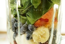 Smoothies & Blended Salads! / Let's get healthy! / by Susan Clayton