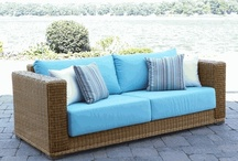 Wicker Sofas / Here is a collection of the most beautiful, enchanting indoor wicker sofas and outdoor wicker sofas we could find. Whether white or brown, solid cushions or patterned, a wicker sofa adds charm and texture to any room. It gives you the comfort to fully lay down and relax, or it's also is great for entertaining guests in front of a wicker coffee table. Hope you enjoy these majestic sofas, as you imagine and dream of only the finest things in life! / by Wicker Paradise