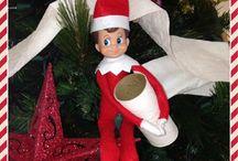 Eugene Marbles (elf on the shelf)  / by Nancy Clarke Sass