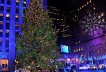 NYC's Winter Wonderland / New York City is one of the most festive places to spend the holidays! Check out all the hot spots you should visit during your trip to NYC's winter wonderland. / by Travel Channel