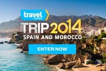 The Trip 2014 / From savory Spanish tapas to sublime Moroccan sunsets, enter daily for a chance to win The Trip 2014: http://www.travelchannel.com/sweepstakes/the-trip / by Travel Channel