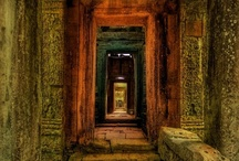 Cambodia at Dawn / from Trey Ratcliff at http://www.StuckInCustoms.com  / by Trey Ratcliff