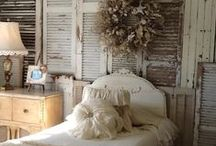 "Shabby Chic  / Decorating ""Shabby Chic"" throughout the house. / by Cushion Source"