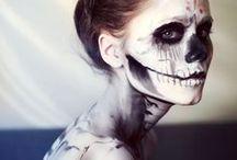 halloween haunts / halloween makeup, halloween beauty, makeup ideas, halloween inspiration, scary makeup, etc.  / by Pretty in my Pocket