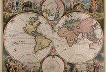 Maps & Maps / by Claude Benard - HoteliTour