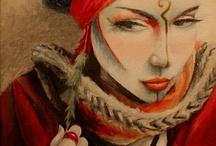 My Artwork / Artwork by Mandy Maxwell, mandyatlarge.com / by Mandy Maxwell