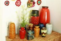 { west german pottery } / I have started a collection of West German pottery. Here are my favs. / by Scacco Alle Regine
