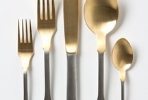 flatware and cutlery / by LAURYN MORRIS