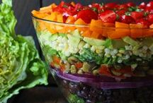 Sensational salads / Find beautiful, delicious salads that are anything but boring!   / by SoupAddict