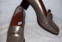 BARGAIN Vintage SHOES!! / Great Prices On Vintage Shoes from the1940s, 50s ,60s, 70s, and 80s! / by Susan M