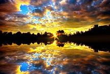 Psalm 19:1 / The heavens declare the glory of God; the skies proclaim the work of his hands. Amen / by DxD