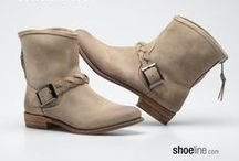 THE SUMMER BOOT / Trendy boots you can wear all summer long. (western boots, moccasins, congo boots, engineer boots) / by Shoeline.com ♥