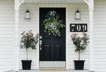 Curb Appeal // Modern Cottage / by Heather Hill