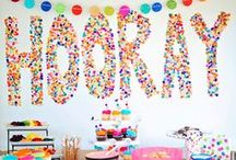 Let's Party! / Birthdays, retirement, baby showers and more: Great ideas for throwing the perfect party! / by BlogHer