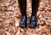 Hunter boots / by LaPrincesa Azul