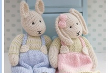 Knitting and crochet / by Diane Aldred