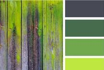 Color Palettes  / Here's a selection of colors that work well together in the home and graphic design. / by Chris