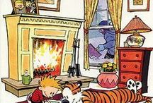 Calvin and Hobbes / by Jennifer Maher