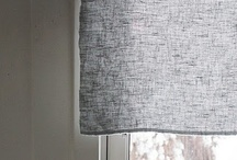 Curtains / Inspiration for ways and uses to dress windows / by Kelly Fannon
