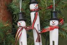 Holiday- Christmas ornaments / by Sharen Fitzgerald