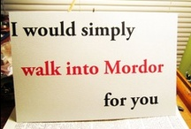 Tolkien  / a true nerd is a Tolkien fan  / by Monet St. Louis