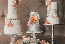 Stunning Wedding Cake & Cupcake Ideas / Wedding cake,cupcake, sweets and cake display table ideas. / by Events Beyond {Event Designer & Planner}