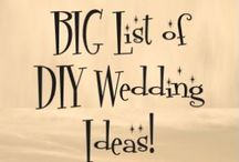 DIY Wedding Ideas / Creative, simple, homemade, affordable, chic, eco friendly DYI wedding projects, how to videos/printable, tutorials & more!  / by Events Beyond {Event Designer & Planner}