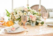 tantalizing tablescapes, table settings, & centerpieces / by Talin Bee