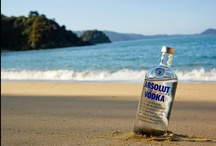 Absolut / A brand of vodka made popular with a witty marketing campaign. / by ☪Ⓡaig C@றdℓn L€w!$