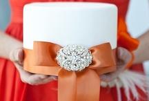Orange & Peach Weddings / Pops of Orange, Coral, Pale Peach, etc. / by Events Beyond {Event Designer & Planner}