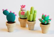 Polymer Clay Minitures / by Grace Tennent