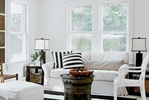 *Black & White Designs* / by Style House & Homes