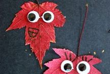 Fall Crafts for Kids / A collection of fall crafts and activities for kids. / by Terri ~ Creative Family Fun